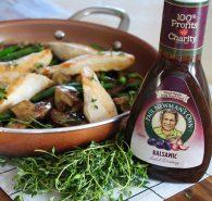 Balsamic Chicken and Mushrooms