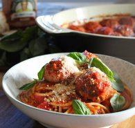 Italian beef & pork meatballs