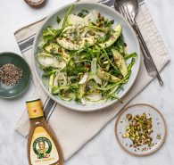 Avocado + Fennel Green Salad
